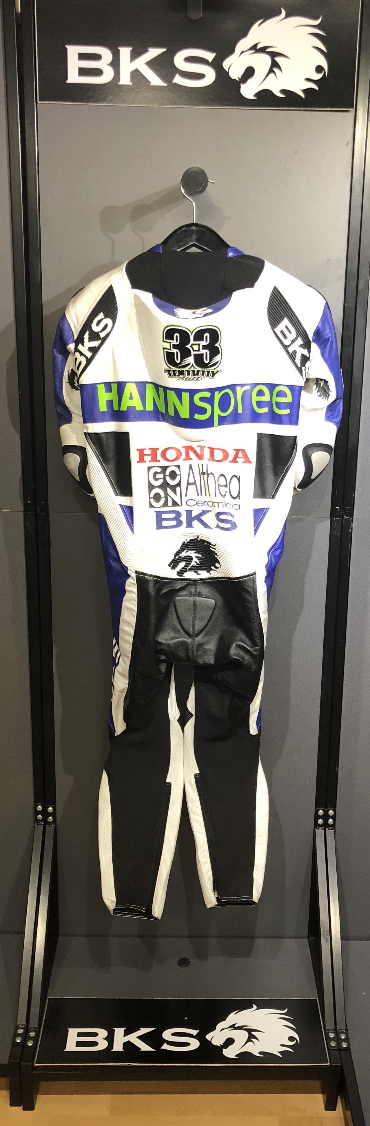 e8fa8c56 Tommy Hill World Superbike Honda suit | BKS Leather Shop