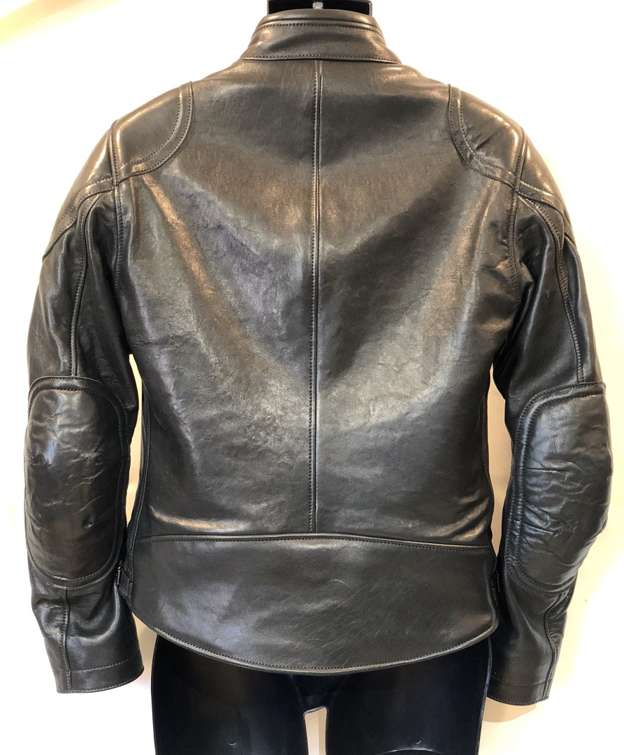 Cafe Racer (10) Black French Lambskin size 38