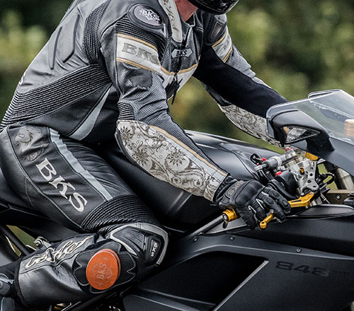 BKS Leather motorcycle suits